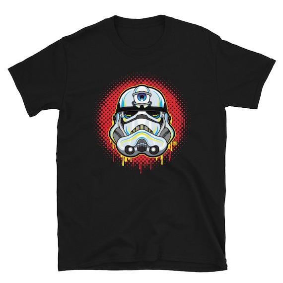 Trippy 3 Eye Storm Trooper Short-Sleeve Unisex T-Shirt
