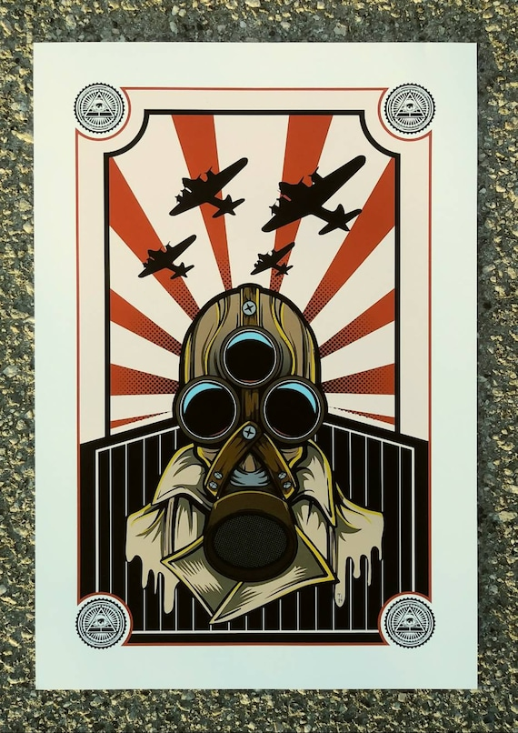 """Limited Edition """"3rd Eye Army"""" Print"""