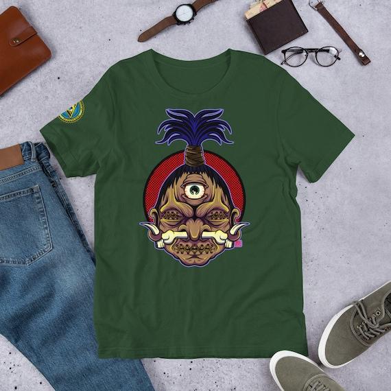 Third Eye Shrunken Head Short-Sleeve Unisex T-Shirt