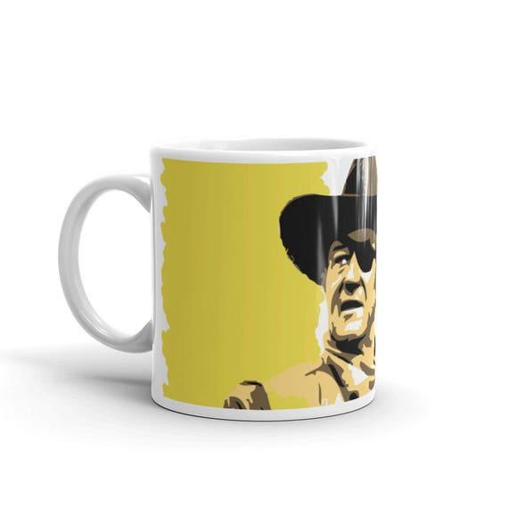 COLORBLiND ARTiSTJohn Wayne True Grit Pop Art Housewares Coffee Mug