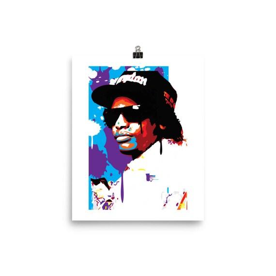 Eazy E Pop Wall Art home Decor Print