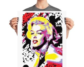 Iconic Beauty Mairlyn Pop Art Prints