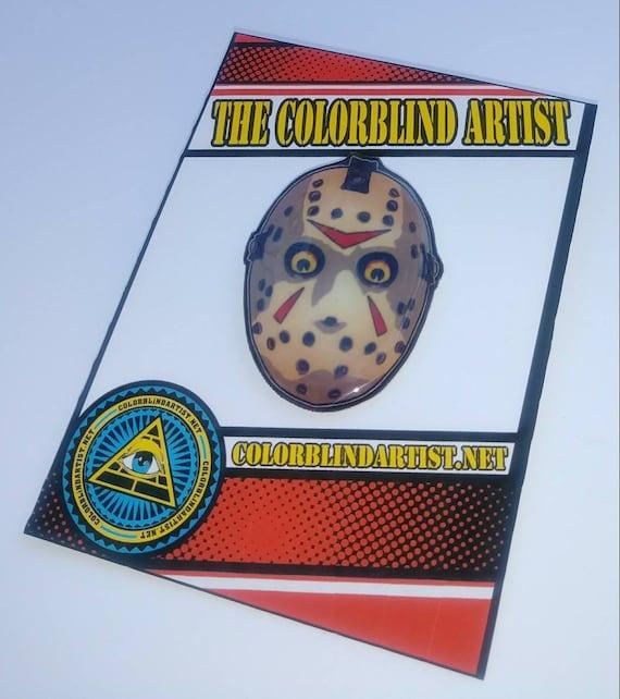 Jason Friday the 13th Horror Handmade Lapel Pin