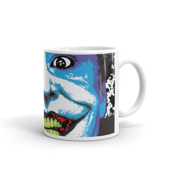 Joker Jack Nicholson Batman DC Comics Coffee Mug