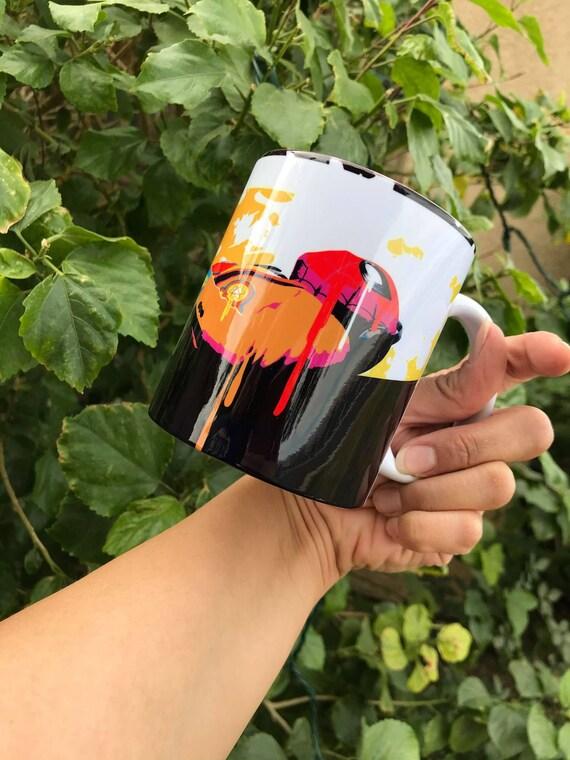Spider-Man Pop Art Coffee Mug