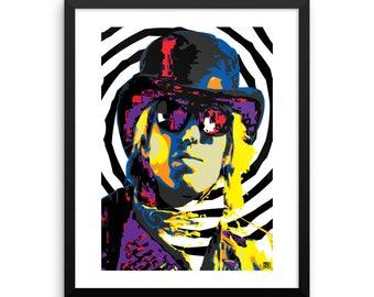16 x 20 Tom Petty Home Decor Pop Art Wall Art Print Framed