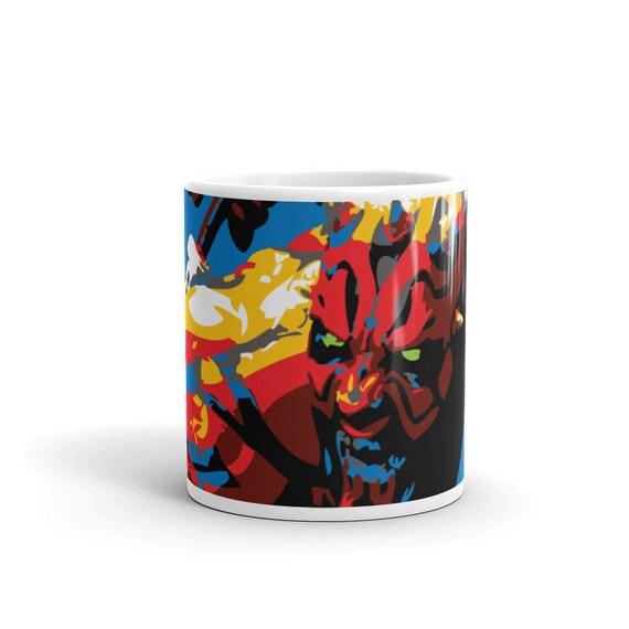 Dart Maul Star Wars Pop Art Houseware Coffee Mug