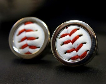 Real Baseball Custom Cuff Links