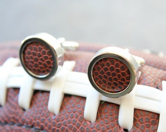 Real Football Custom Cuff Links