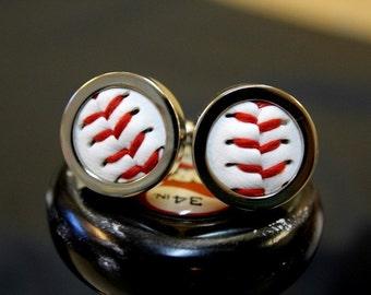 Real Baseball Custom Cufflinks