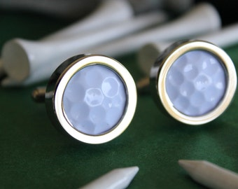 Real Golf Ball Custom Cuff Links