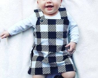 ce3b56ebd580 Plaid baby dress
