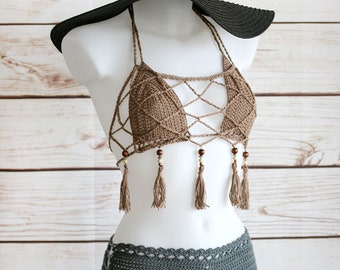 b80507468339c Crochet fringe top