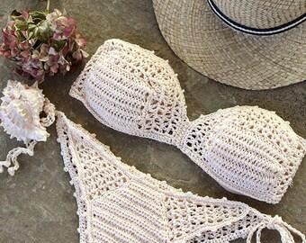 Crochet Bikini Etsy
