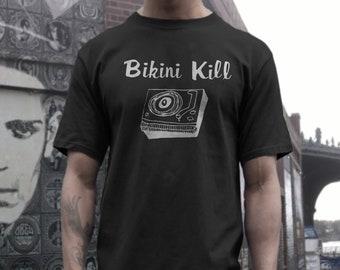 92027c785b887 Bikini Kill T shirt screen print short sleeve shirt cotton