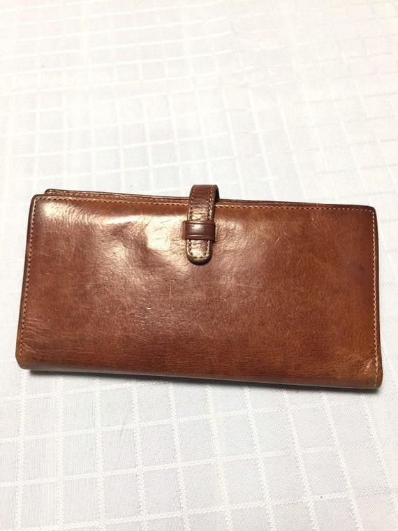 961b7813e0cc ... bag poshmark 06239 4691b cheapest vintage old coach brown leather  wallet 59bf8 7712c ...