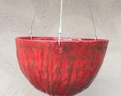 10 quot Hanging Ceramic Planter