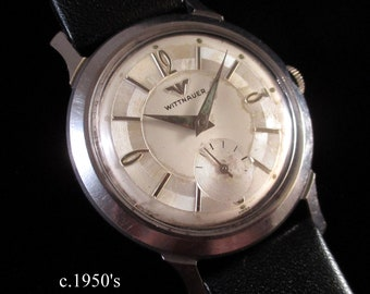 c.1950's Wittnauer 'Daily Driver' - Solid Stainless Steel