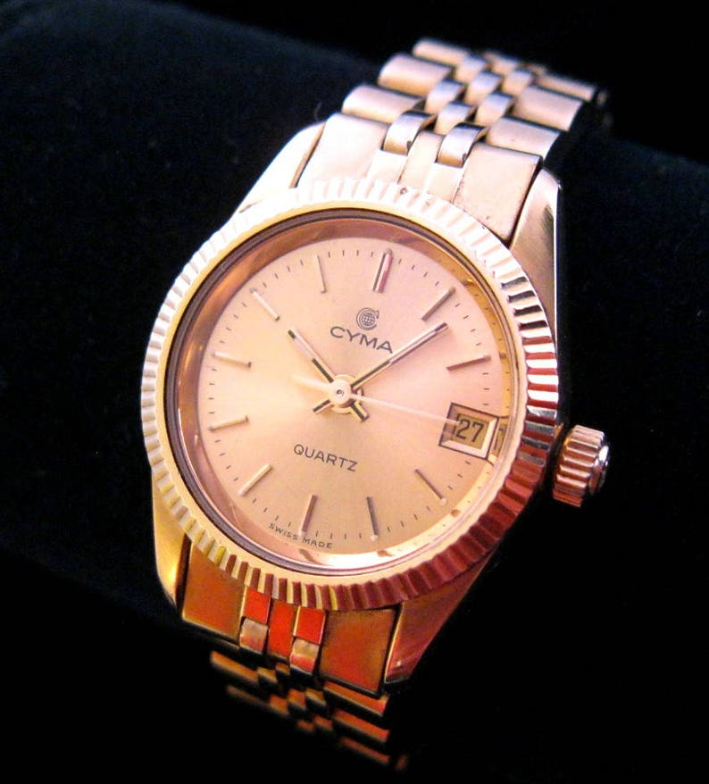 Cyma Ladies Watch 10kt Gold Filled Nice