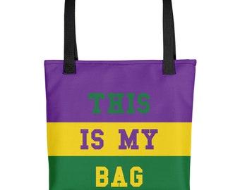 This Is My Bag Mardi Gras Tote Bag