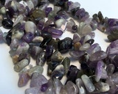 Amethyst Extra Large Top Drilled Chips Full Strand 15 quot