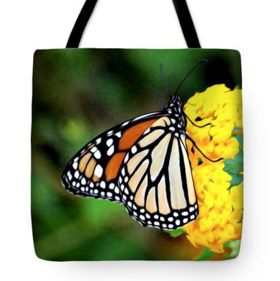 pintura de la monarca de Etsy mariposa Bolso Digital mano de xtwnX8wYqF