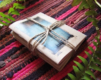 Notebooks Journal Gift Set of 3 - Chose your choice cover / Mini Travel Diary for your Inspiration