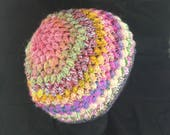 Puff Hat - made from assorted wool blends