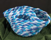 Fabric Coil Trinket Bowl with Handles