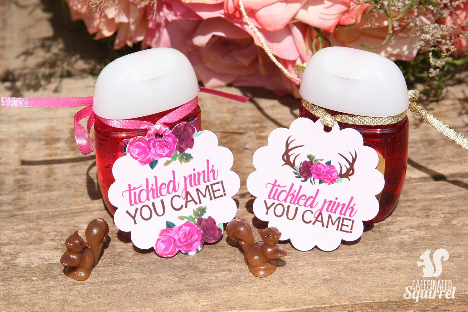 Tickled Pink You Came Tags Perfect for Baby Showers   Etsy