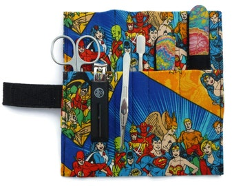 8- Piece Luxury Mega-Manicure Set (Superheroes)