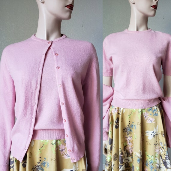 Luxurious 1950s Pringle of Scotland Cashmere Sweat