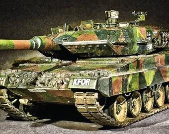 1980 German Leopard II A5 Main Battle Tank (LG Print)