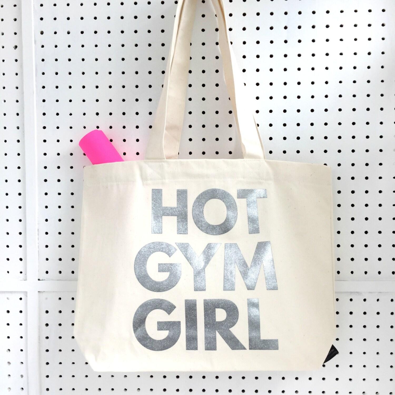 Hot Gym Girl Workout Bag Gym Bag Yoga Bag Gifts For   Etsy 586ba0e5aa