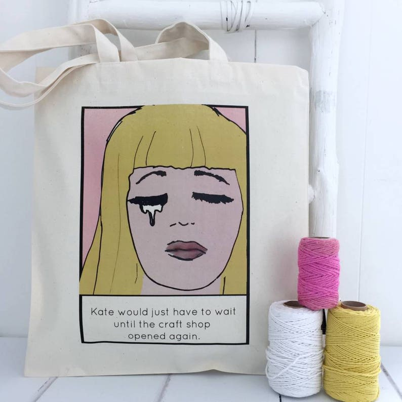 Craft Shop Personalised Craft Bag Craft Project Bag Craft Storage Crafting Craft Accessories
