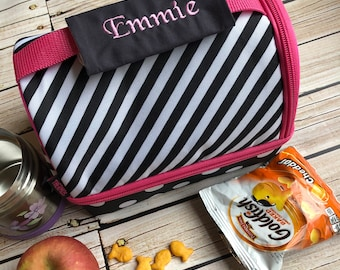Personalized Handle Wrap - First Name - Perfect for Back to School, Lunch Box, Backpack, Stocking Stuffer