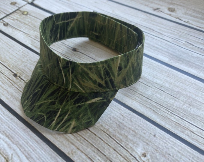 Hunter Camo Visor Photo Prop - Camouflage - Perfect for Baby Boys or Girls, Outdoor baby