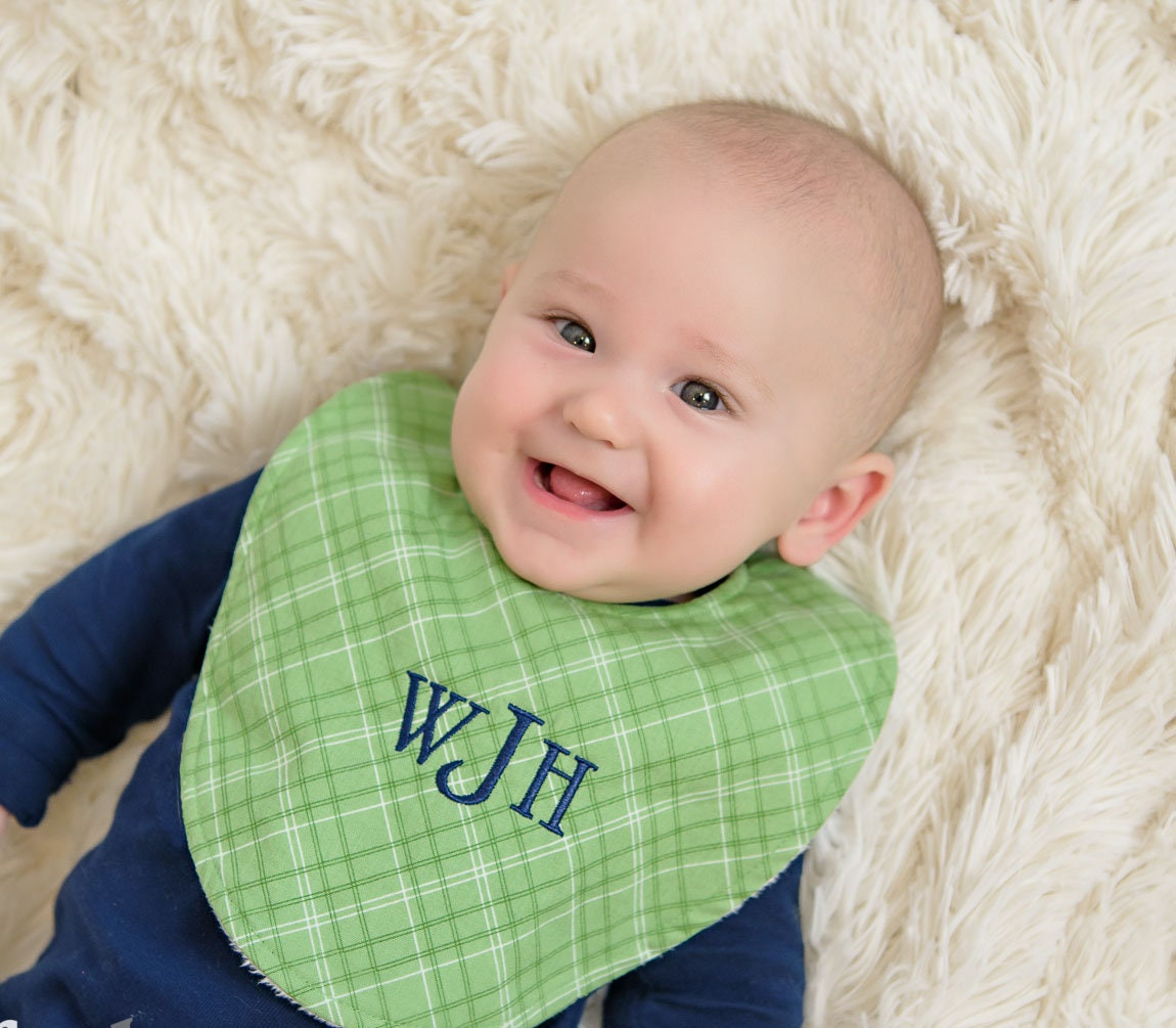 Boutique bib choice of prints new baby gift personalized baby boutique bib choice of prints new baby gift personalized baby gift new baby boy or girl negle Image collections