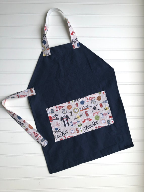 Toddler Smock Kids Personalized Aprons Monogram Christmas gift Preschool Gingham Choices Embroidered Name