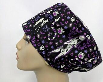 Nightmare before Christmas Sally hybrid scrub hat 264d3ac83852
