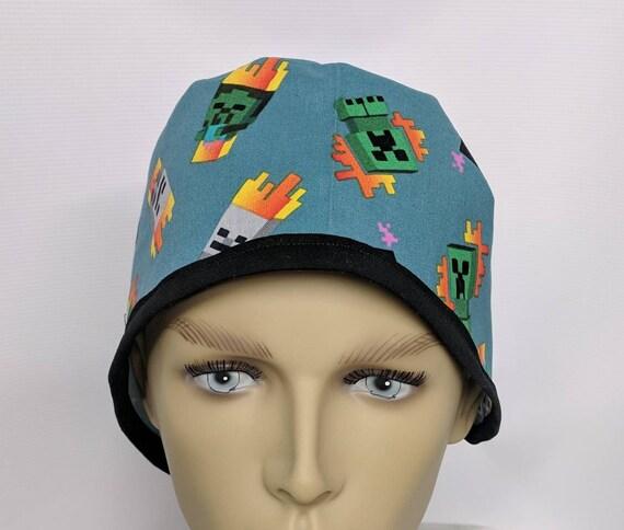 cb5f01d22fe Minecraft 2 men s scrub cap