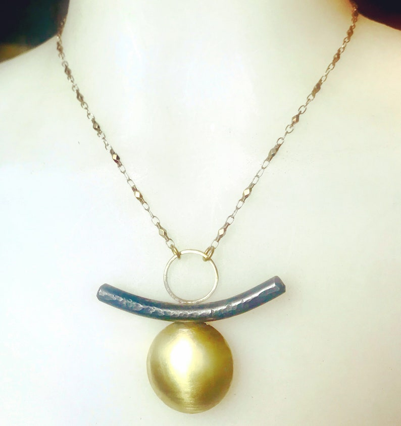 Arc and Dome  Necklace image 0