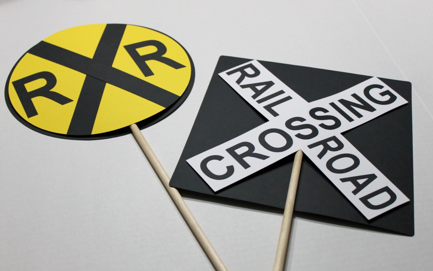 photo about Railroad Crossing Sign Printable called Practice celebration centerpiece, teach birthday social gathering, railroad crossing centerpiece, prepare bash decoration, teach birthday celebration decor