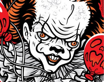 Pennywise - Screen Printed Poster