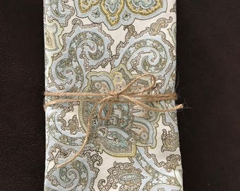 Large cloth napkins - summer dinner napkins - cotton napkins - handmade napkins - napkins - reusable dinner napkins - eco friendly napkins