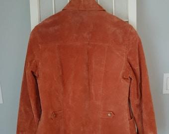 b414e95c83b1b4 Annata fredda acqua Creek Ladies LeatherSuede giacca - dimensione XSmall