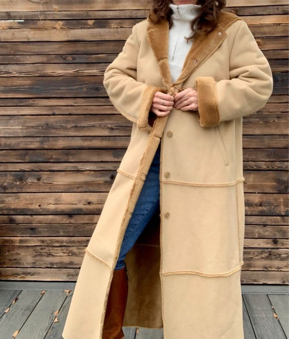 Liz Claiborne Faux Shearling Full-Length Winter Co