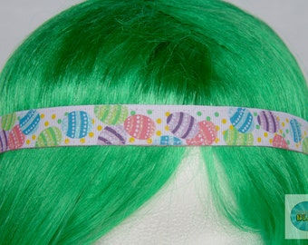 No Slip Pink Easter Sparkle Headband