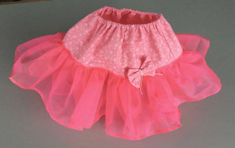 fea459c5fc8171 Kleine Mädchen Neonfarben rosa Rock handgefertigte Tutu 2
