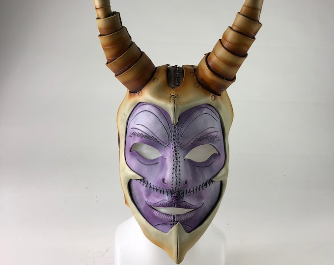 Warhammer Handmade Genuine Leather Mask